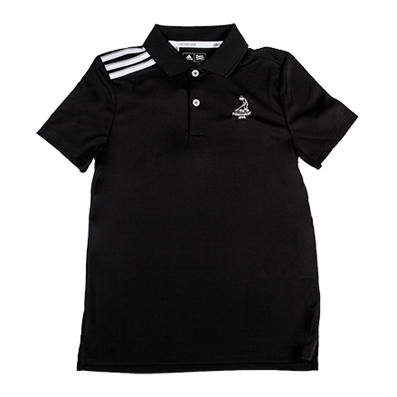 Youth adidas Climacool 3 Stripe Polo Mini-Thumbnail