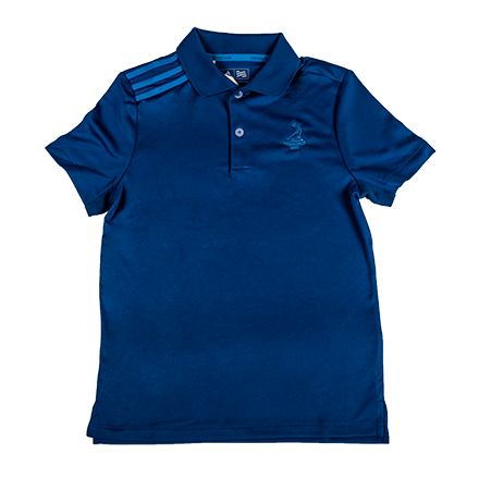 Youth adidas Climacool 3 Stripe Polo