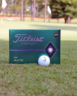 Titleist AVX 2020 Release- Sleeve of 3 LARGE