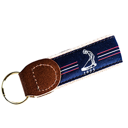 Pinehurst Center Stripe Key Chain