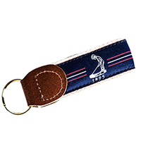Pinehurst Center Stripe Key Chain_THUMBNAIL