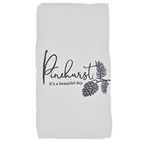 It's a Beautiful Day/Pinecone Tea Towel_THUMBNAIL