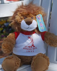 "Putter Boy 9"" Lion Stuffed Animal THUMBNAIL"
