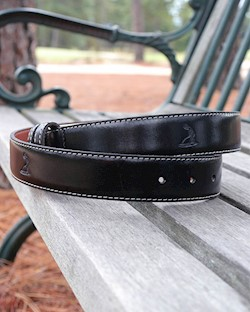 Monte-Carlo Leather Embossed Belt LARGE
