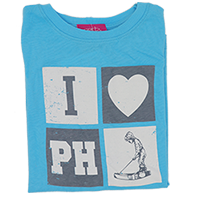 Toddler I love PH Tee SWATCH