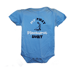 My First Pinehurst Shirt Onesie
