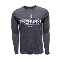1895 Pinehurst Tri-Blend Long-Sleeve Tee