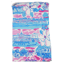Pinehurst Print Beach Towel MAIN