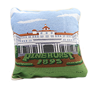 Smathers and Branson Carolina Needlepoint Pillow THUMBNAIL