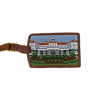Smathers and Branson Needlepoint Luggage Tags THUMBNAIL