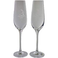 Champagne Flute Set of 2 SWATCH
