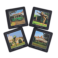 Pinehurst Resort Neoprene Coaster Set of 4_THUMBNAIL