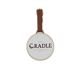 Engravable Bag Tag- The Cradle MAIN