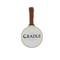 Engravable Bag Tag- The Cradle