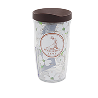 Tervis- Dogwood Wrap 16 oz. with Lid