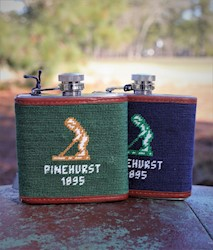 Smathers and Branson - Needlepoint Flask THUMBNAIL
