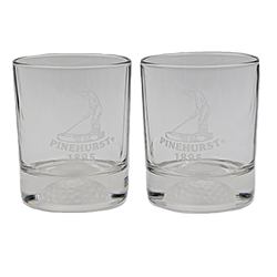 Putter Boy FORE DOF 12.5 oz Glass Set of 2 LARGE
