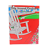Trip Around Pinehurst Coloring Book THUMBNAIL