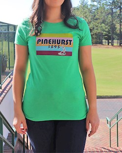 Kate Lord- Ladies' Pinehurst 1895 Danby Tee LARGE