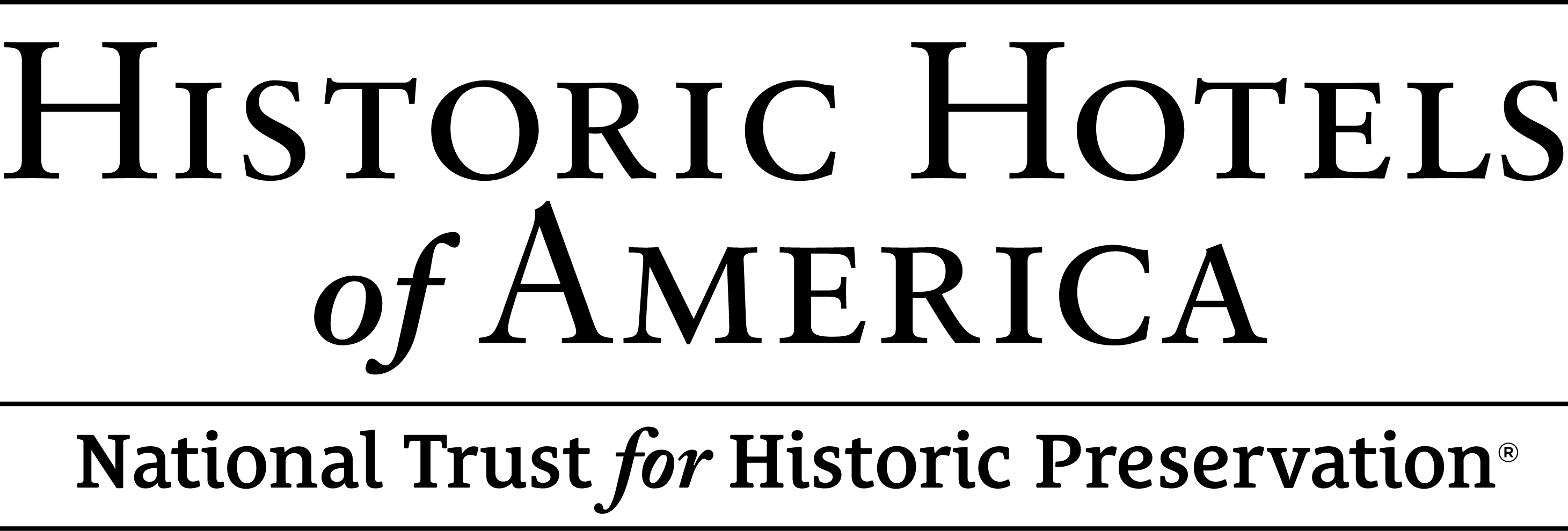 Historic Hotels of America.  National Trust For Historic Preservation