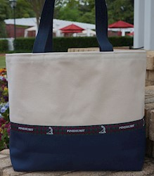 Pinehurst Tartan Large Tote Bag THUMBNAIL