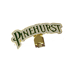 Pinehurst Single Letters Hatclip