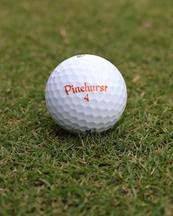 Pinehurst No. 4 Single Logo Ball LARGE