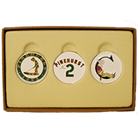 Putter Boy/No. 2/Cradle Ballmarker Set
