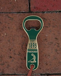 Engravable Pinehurst Bottle Opener THUMBNAIL
