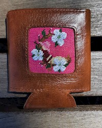 Smathers and Branson- Spring Cradle Needlepoint Can Cooler THUMBNAIL