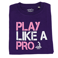 Toddler Play Like a Pro Tee (Purple) THUMBNAIL