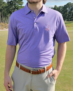 Peter Millar- Men's Hales Perf Polo LARGE