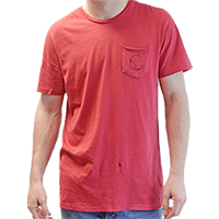 Men's Cradle Hudson Pocket Tee THUMBNAIL