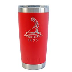 Yeti- Canyon Red Pinehurst 20 oz. Rambler MAIN