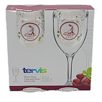 Tervis- Dogwood Wine Glass/Set of 2_SWATCH