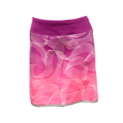 Ladies' Intuition Printed Skort