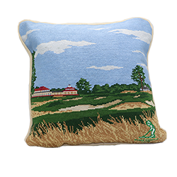 Smathers and Branson Course Needlepoint Pillow MAIN