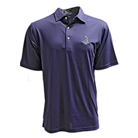 Men's Donald Ross Tartan Collection- Solid Polo_THUMBNAIL