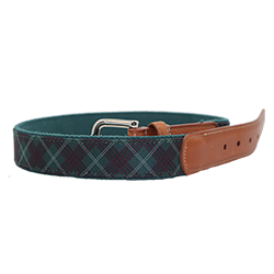 Pinehurst Tartan Collection- Tartan Print Belt_LARGE
