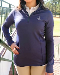 Donald Ross- Ladies' PTC 1/2 Zip Pullover THUMBNAIL