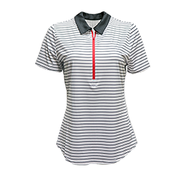 Ladies' Short-Sleeve Zip Polo