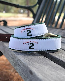 Pinehurst No. 2 Ribbon Belt LARGE