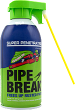 Pipe Break - 9 oz. can with attached Straw (Single Can) SWATCH