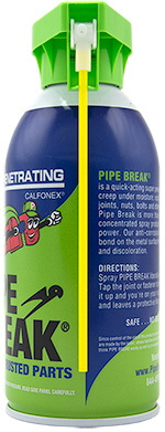 Pipe Break - 9 oz. can with attached Straw (Single Can)_SWATCH