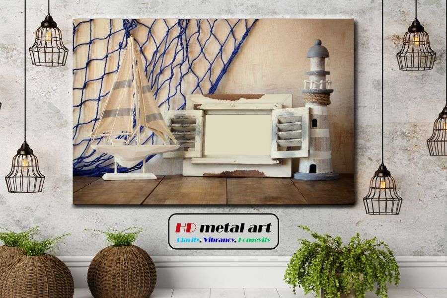 HD Metal Art, Indoor/Outdoor Wall Decor,  Pixolate, Subtint SEASHELLS 19031 200 THUMBNAIL