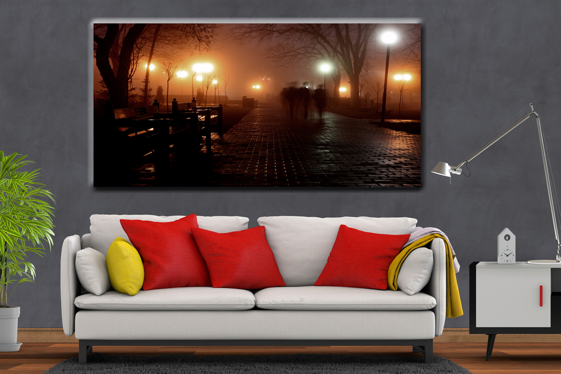 Canvas Art Wall Decor, cities 20219 21 LARGE