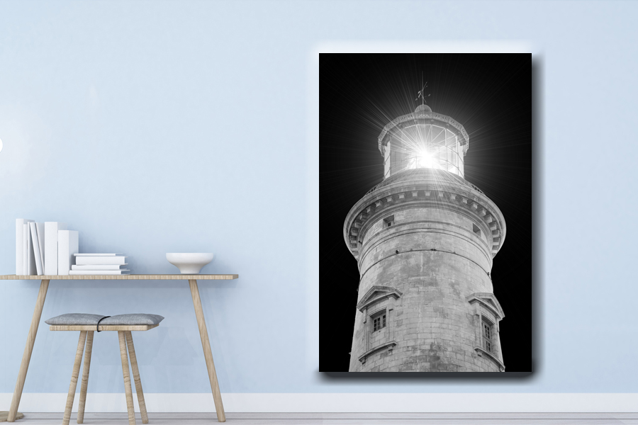HD Metal Art, Indoor/Outdoor Wall Decor, Lighthouse 21007 200 111 LARGE