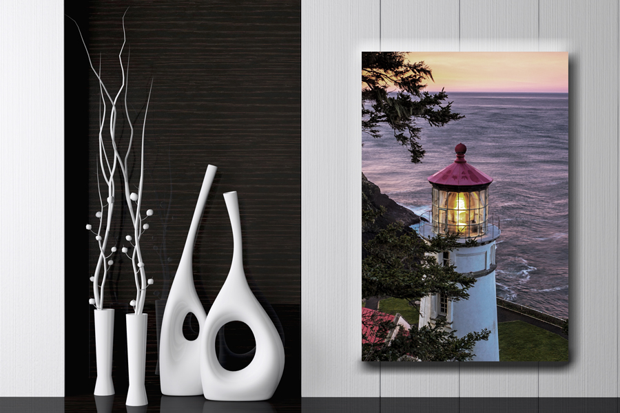 HD Metal Art, Indoor/Outdoor Wall Decor, Lighthouse 21031 200 111 THUMBNAIL
