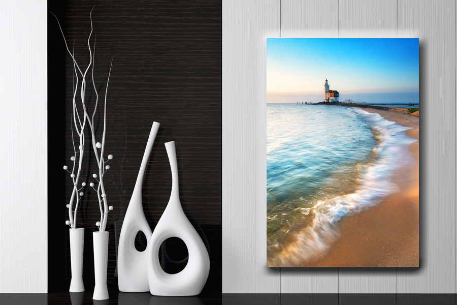 HD Metal Art, Indoor/Outdoor Wall Decor, Lighthouse 21076 200 110 LARGE