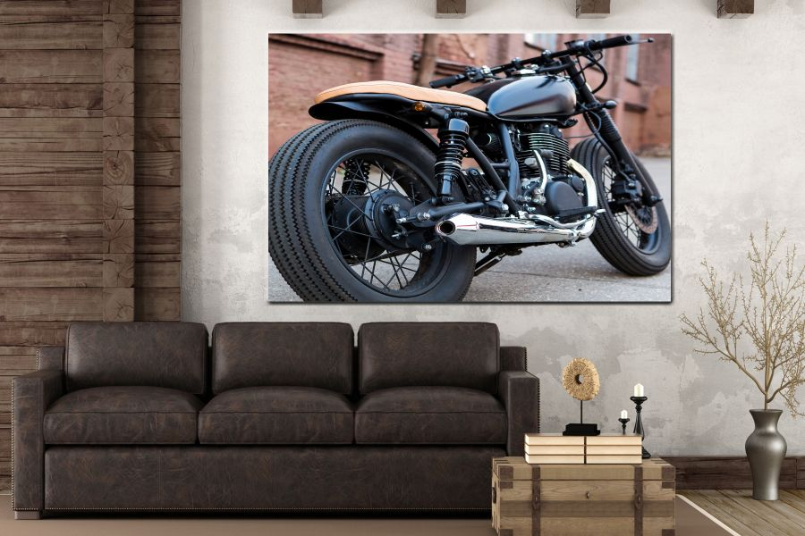 Canvas Art Wall Decor, CANVAS ART MOTORCYCLE 28005 111 THUMBNAIL